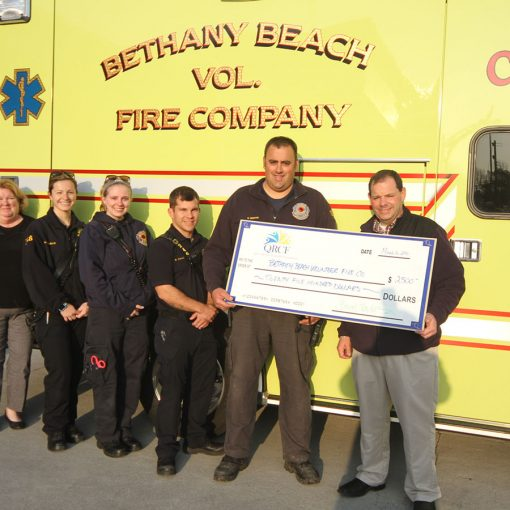 Grant to Bethany Beach Volunteer Fire Company