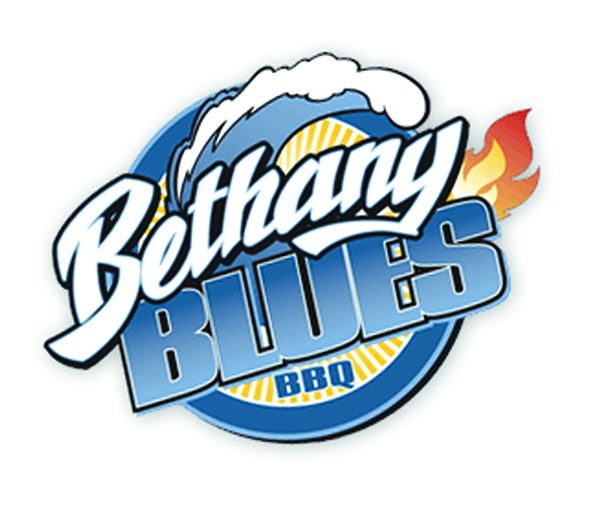 The Bethany Blues BBQ Logo