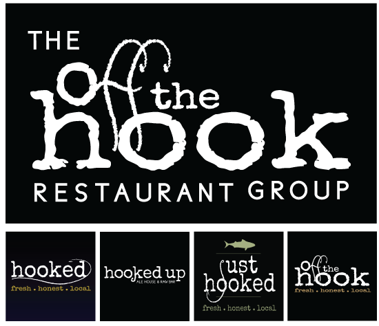 The Off The Hook Restaurant Group Logo