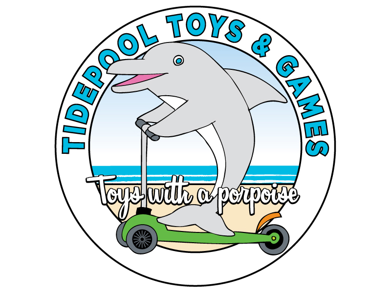 The Tidepool Toys & Games Logo