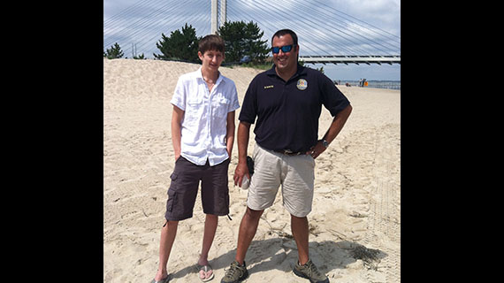 Delaware Events Martin Eagle Scout Project At the Beach